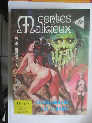 elvifrance contes malicieux n° 42 comme neuf
