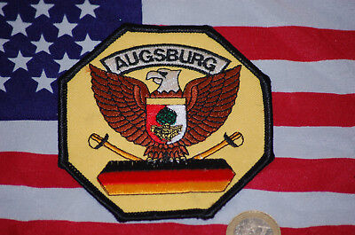 US ARMY Patch Aufnäher in AUGSBURG GERMANY Kalka Army Shop New Old Rare