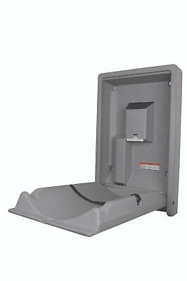 Baby Changing Station, wall mounted baby changer, space saving baby changer