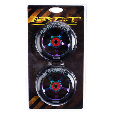Grit Scooters 100mm Alloy Core Wheels in Black