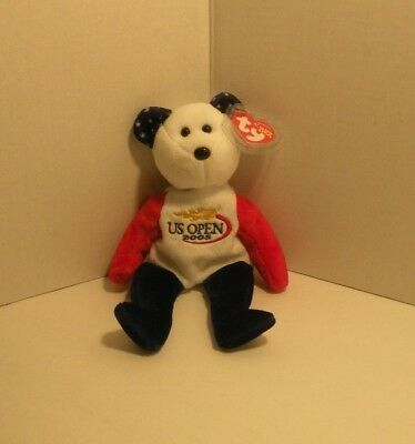 TY Beanie Baby - SMASH the U.S. OPEN 2005 Bear (U.S. OPEN Exclusive) (9 inch)