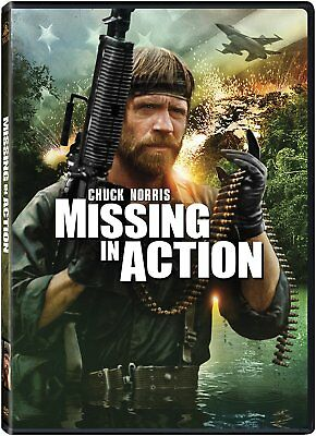 Missing In Action (Chuck Norris) - Mgm - Ws/fs *new Dvd*