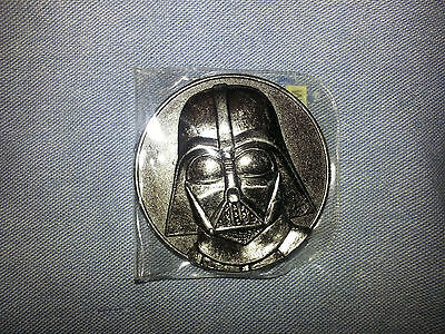 Star Wars Darth Vader California Lottery 2005 Promo, rare coin token 46mm