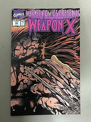 Marvel Comics Presents #84 Wolverine Weapon X Marvel (1991) Firestar
