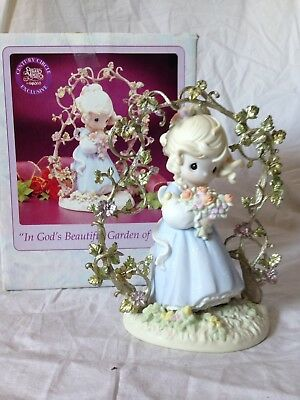 Precious Moments Lot of 4 Figurines