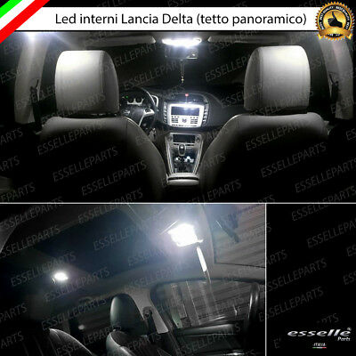 Kit Full Led Interni Lancia Delta Con Tetto Apribile Conversione Completa Canbus