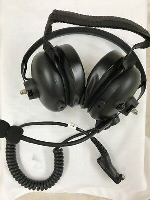 NEW-OEM MOTOROLA PMLN5275 Heavy Duty Headset Compatible w/ APX,MTP, XPR APX7000