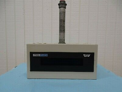 Uticor 76536-1 Programmable Message Display 115/230V 50/60HZ .3/.15A w/Enclosure