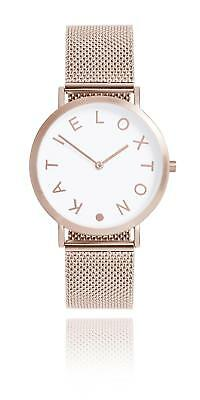 Katie Loxton - Rai Watch - Rose Gold Plated Chain Metal Strap
