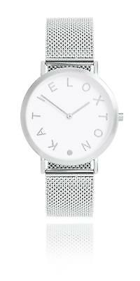 Katie Loxton - Rai Watch - Silver Plated Chain Mail Watch