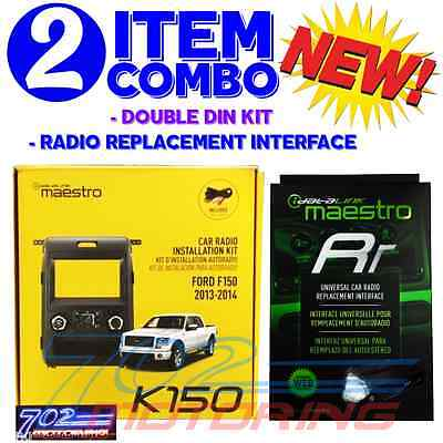 iDATALINK MAESTRO ADS KIT-K150 + ADS-MRR COMPATIBLE WITH ALPINE ILX-F309 HALO9