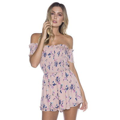 Mooloola Penny Playsuit in Pink