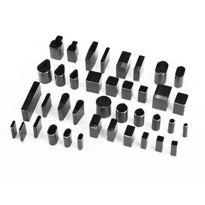 39pcs Hole Hollow Cutter Punch Metal Leather hand Craft DIY Phone Holster WS