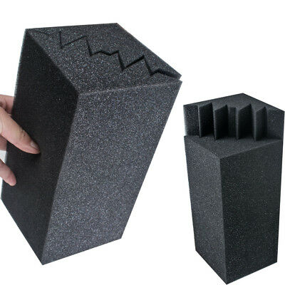 8pcs Studio Corner Panels Bass Trap Absorbing Acoustic Foam Wall Absorb sound