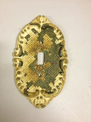 Antique Brass Ornate Light Switch Plate Cover (ddf22)