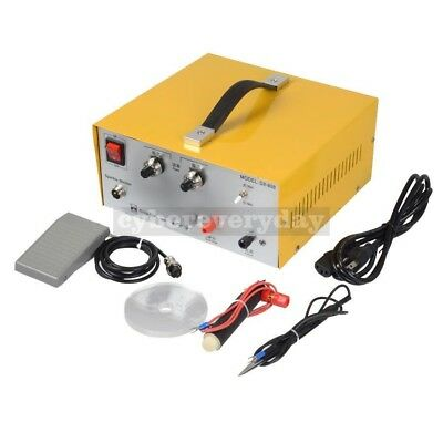 80A DX-808 Pulse Sparkle Spot Welder Gold Silver Jewelry Machine Tools 110/220V