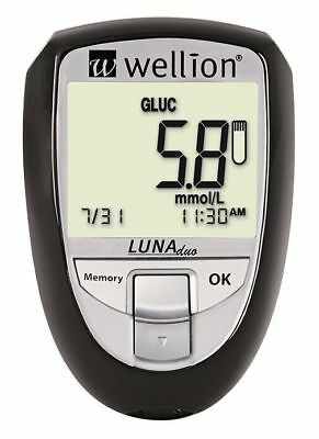 Cholesterol & Glucose home monitor with 25 glucose and 10 Cholesterol strips