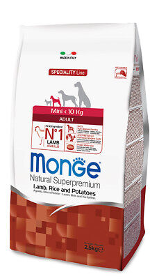 Monge Superpremium adult mini Agnello kg 2,5