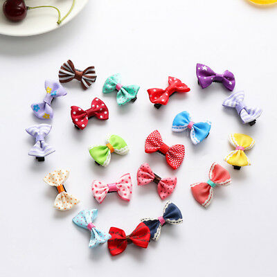 20pcs Girls Kids Baby Children Toddler Flowers Hair Clip Bow Accessories Hairpin