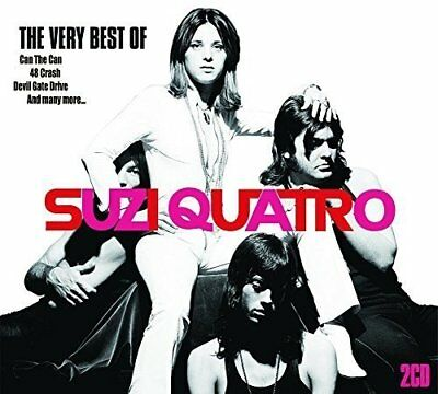 SUZI SUSIE QUATRO - The Very Best Of - Greatest Hits Collection 2 CD DOUBLE NEW