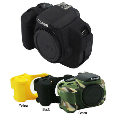 Camera Soft Silicone Skin Case Bag for Canon Eos 700D 650D 600D Rebel T5i T4i