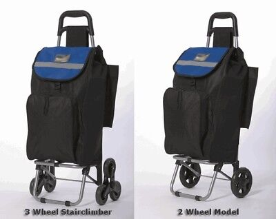 RoadRunner Folding Grocery Shopping Cart with Removable Bag Two Wheel Model