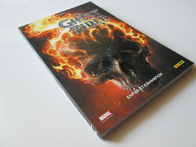 Comics - Panini - Marvel- Ghost Rider T.02 : Enfer Et Damnation  ...neuf