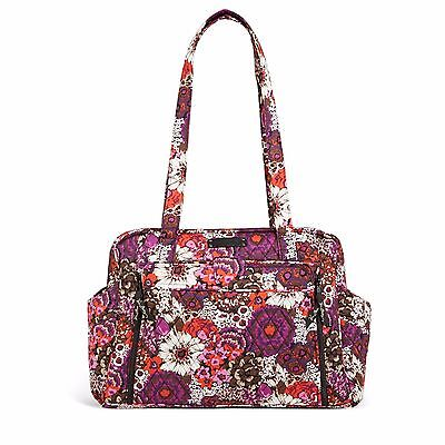 VERA BRADLEY STROLL AROUND BABY BAG IN ROSEWOOD NewWT