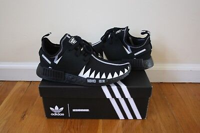 wholesale dealer eb4ce d1f96 ADIDAS X NEIGHBORHOOD NMD_R1 PK Black Boost Size 7.5 Brand New