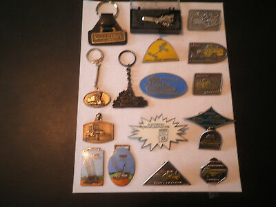 Watch Fobs & Belt Buckles & Stick Pins & Key Chains With Tie Clip