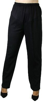 Plus Size Regular Maternity Long Slacks Stripped Confy Bell Band Elastic Work