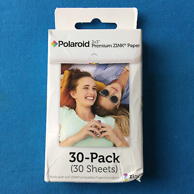 Polaroid 2x3 inch Premium ZINK Photo Paper (30 Sheets) -NEW ✔Ships Same Day!