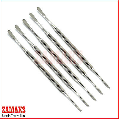 Set Of 5 Professional Wax Carving Beale Carvers Technician Laboratory Instrument