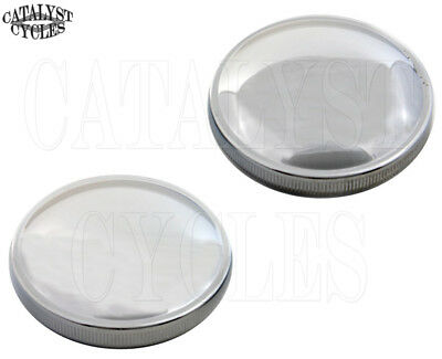 Chrome Gas Caps for Harley Shovelhead Non-Vented & Vented Shovelhead Gas Cap