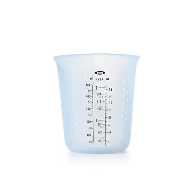 Oxo Good Grips Squeeze and Pour, 2 Cup Measuring Cup Silicone Millilitres Ounces