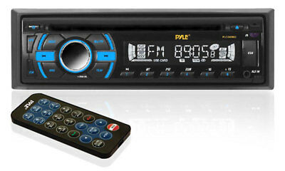 Car Audio Stereo Radio AM/FM Receiver CD Player USB MP3 Media Deck Aux RCA Out