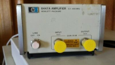 HP 8447A Amplifier