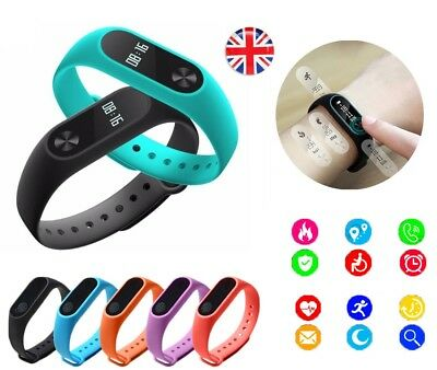 New 2018 M2 Bluetooth Touch Fitness Activity Tracker Smart Band Watch Heart Rate