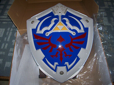 NEW! Legend Of Zelda Hylian Shield Hard Shell Backpack Padded Laptop / Tablet