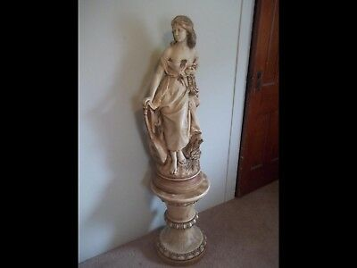 Greek Statue including stand