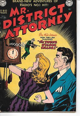 Mr. District Attorney #18 1950 Solid Copy DC Pre-Code
