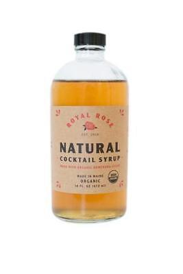 Royal Rose Demerara Simple Syrup 472ml