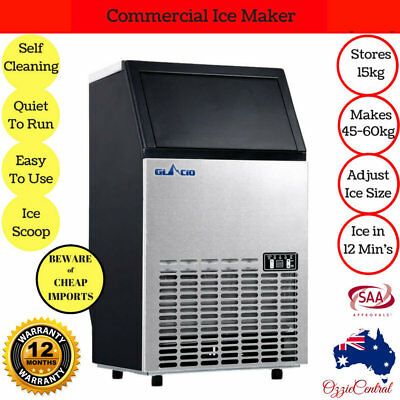 Commercial Ice Cube Maker Machine Auto Home Portable Frozen Bar Drinks Domestic