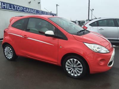 Ford Ka Zetec   Sport Se  Door With St Styling Upgrade Red Manual Petrol