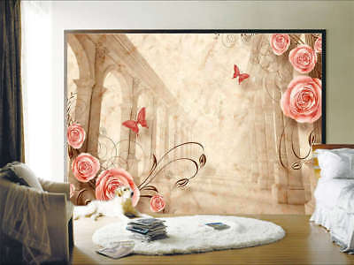 Neat Homely Flower 3D Full Wall Mural Photo Wallpaper Printing Home Kids Decor
