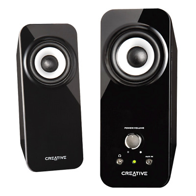 Multimedia Speaker System with Bass Flex Technology Creative Inspire T12 2.0