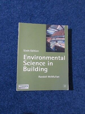 Environmental Science in Building (Building