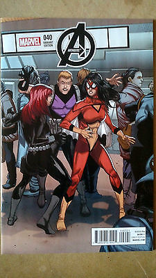 Avengers #40 1St Print Variant Marvel Comics (2015) Spider Woman Black Widow