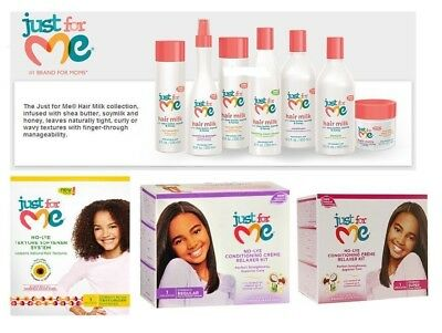 Just For Me Kids Hair Milk Softening Smoothing Hair Care Styling