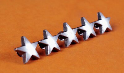 "30pcs STAR Metal Rivet Studs 5/8"" (15mm ) Leather Crafts Purse Belt Decor Concho"